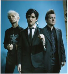 Tré Cool, Billie Joe Armstrong e Mike Dirnt.